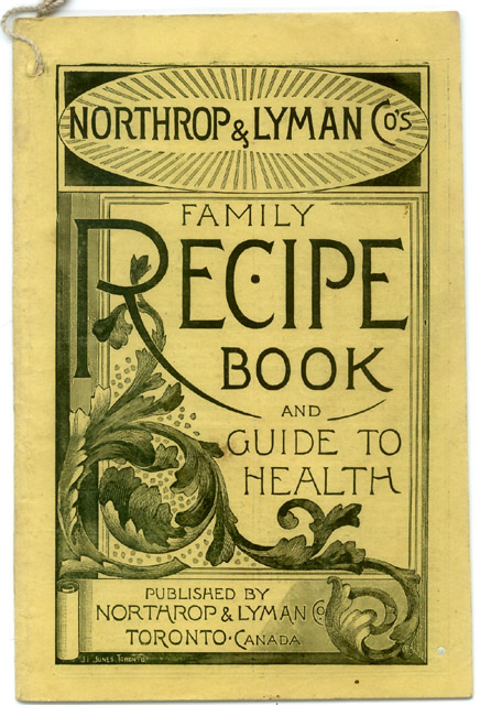 Image of a Recipe Book