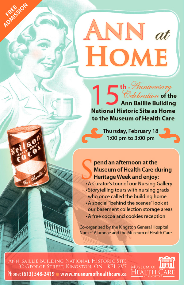 Ann at Home Event Notice
