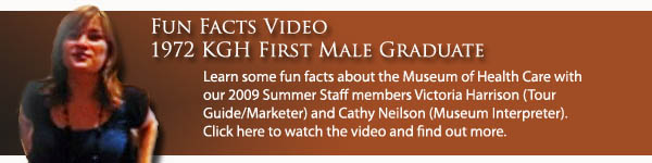 Fun Fact Video - First Male Grad Banner
