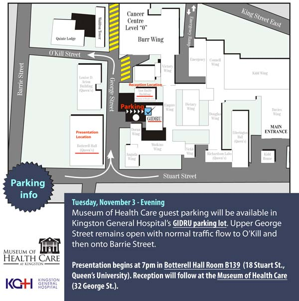 Map - Parking Information