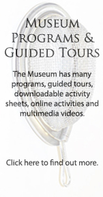 Museum Programs & Guided Tours Banner