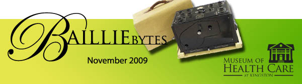 BAILLIEbytes November 2009 Header Banner