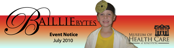 BAILLIEbytes Event Notice July 2010