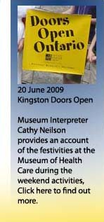 Kingston Doors Open Banner